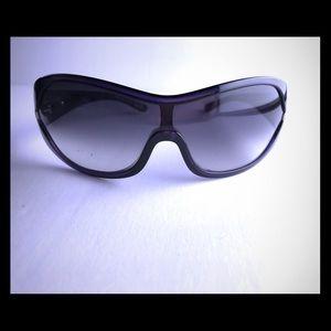 Prada purple wrap sunglasses